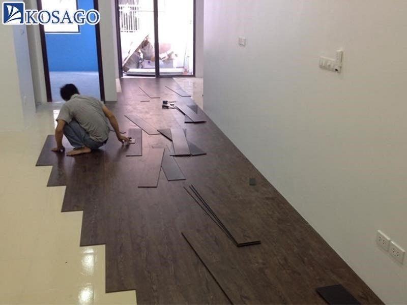 Biện pháp khắc phục sàn nhựa giả gỗ bị cong vênh